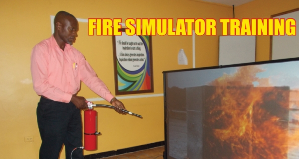 Basic Firefighting Simulator Training